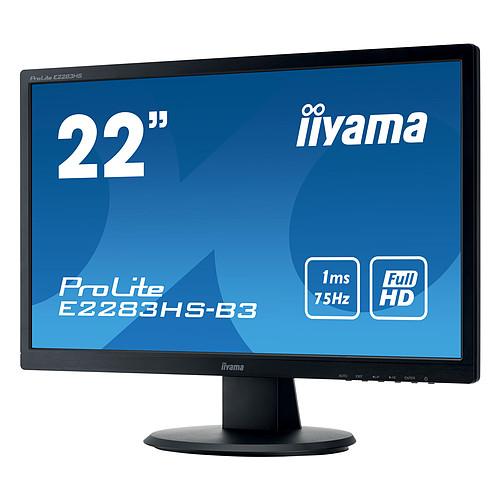 "iiyama 21.5"" LED - ProLite E2283HS-B3 pas cher"