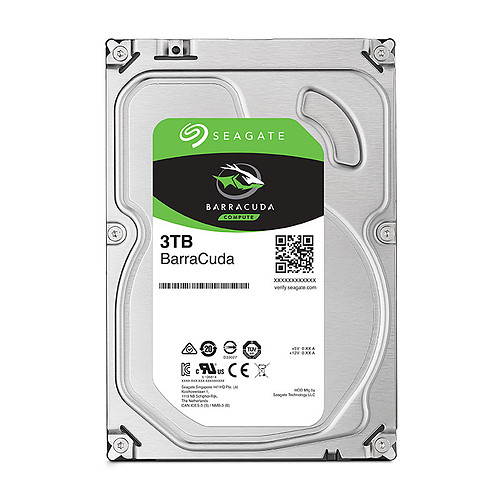 Seagate BarraCuda 6 To (2x 3 To - ST3000DM007) pas cher
