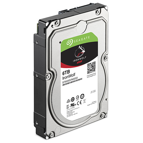 Seagate IronWolf 6 To (ST6000VN0033) pas cher