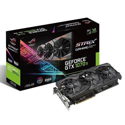 ASUS GeForce GTX 1070 Ti ROG-STRIX-GTX1070Ti-A8G-GAMING pas cher