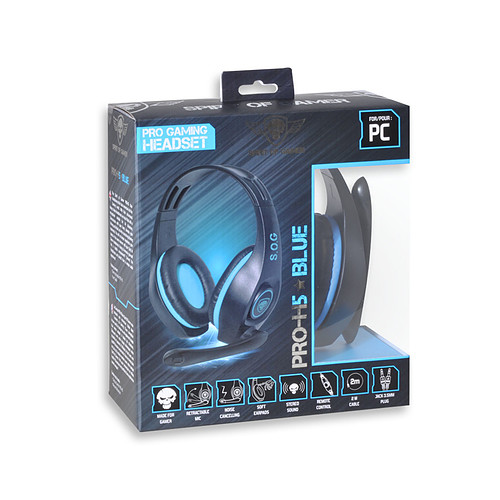 Spirit of Gamer Pro-H5 (Bleu) pas cher