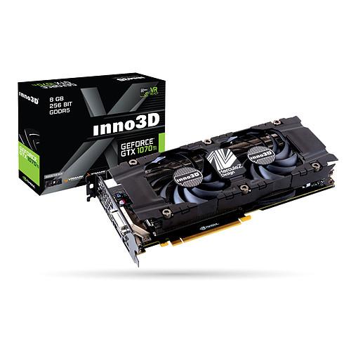 INNO3D GeForce GTX 1070 Ti TWIN X2 pas cher