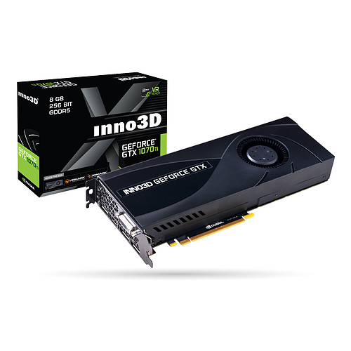 INNO3D GeForce GTX 1070 Ti JET pas cher
