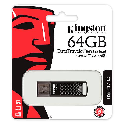 Kingston DataTraveler Elite G2 64 Go pas cher