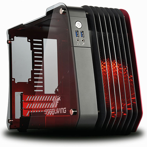 Enermax STEELWING Rouge pas cher