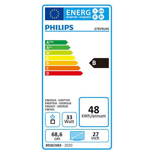 """Philips 27"""" LED - 273V5LHSB pas cher"""