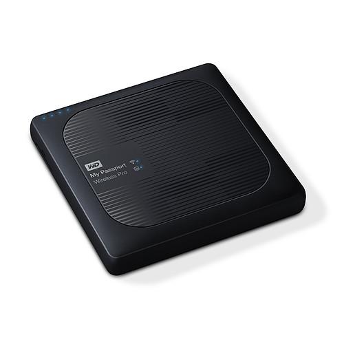 WD My Passport Wireless Pro 4 To Noir (Wi-Fi/USB 3.0/SD-Card) pas cher