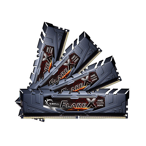 G.Skill Flare X Series 64 Go (4x 16 Go) DDR4 2933 MHz CL16 pas cher