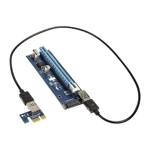 Kolink kit riser PCI-Express 1x vers 16x (SATA) pas cher