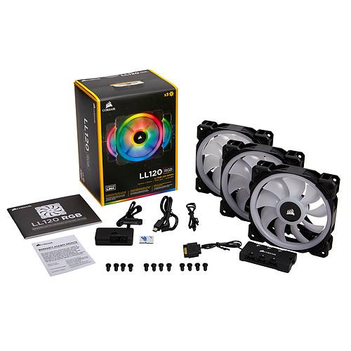 Corsair LL Series LL120 RGB Triple Pack pas cher