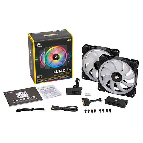 Corsair LL Series LL140 RGB Dual Pack pas cher