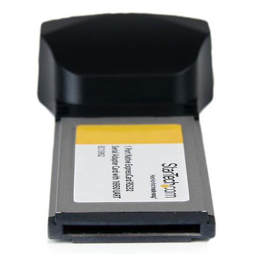 StarTech.com Carte contrôleur ExpressCard 34 ou 54 vers port RS232 pas cher