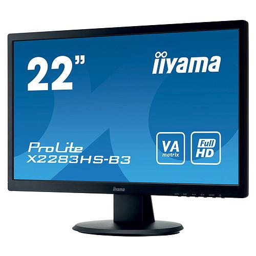 "iiyama 21.5"" LED - ProLite X2283HS-B3 pas cher"