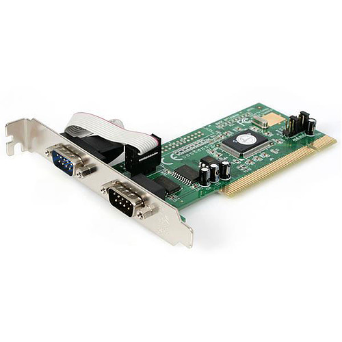 StarTech.com Carte PCI avec 2 ports DB-9 - UART 16550 pas cher