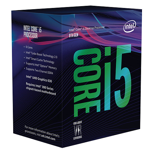 Intel Core i5-8500 (3.0 GHz) pas cher
