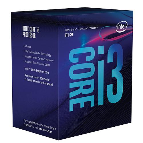Intel Core i3-8100 (3.6 GHz) pas cher