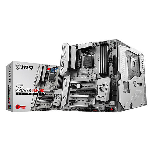 MSI Z270 MPOWER GAMING TITANIUM pas cher