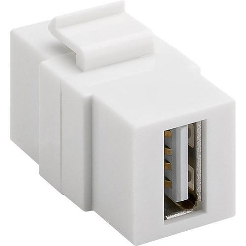Goobay coupleur USB 2.0 pour boitier réseau type Keystone pas cher