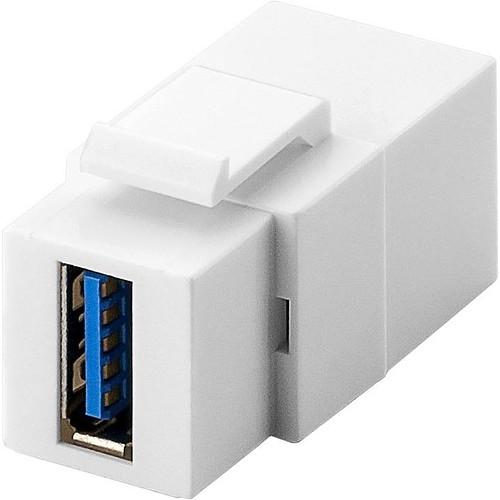 Goobay coupleur USB 3.0 pour boitier réseau type Keystone pas cher