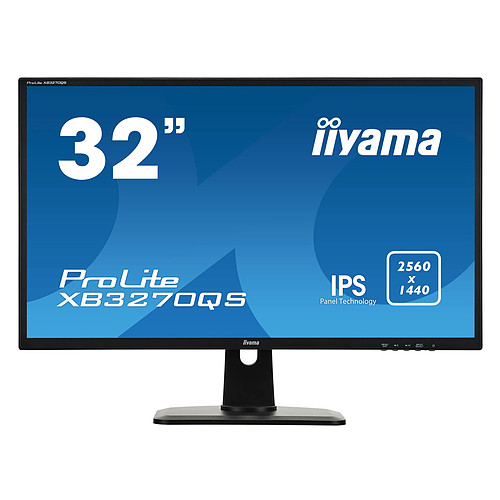 "iiyama 32"" LED - ProLite XB3270QS-B1 pas cher"