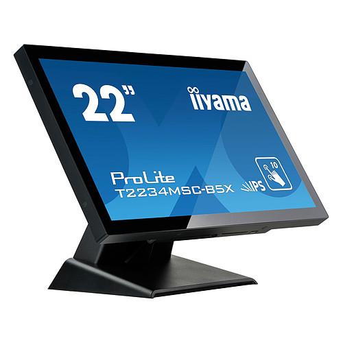 "iiyama 21.5"" LED Tactile - ProLite T2234MSC-B5X pas cher"