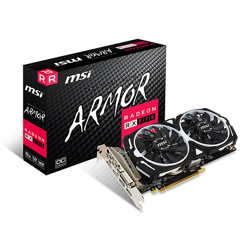 MSI Radeon RX 570 ARMOR 8G OC pas cher