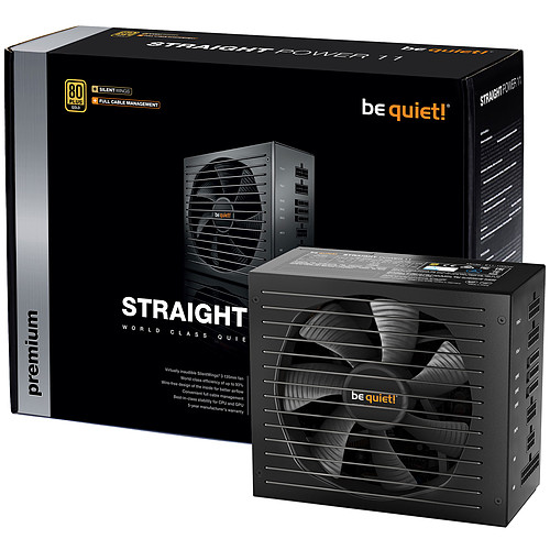 be quiet! Straight Power 11 450W 80PLUS Gold pas cher