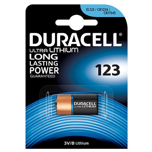 Duracell Ultra 123 Lithium 3V pas cher