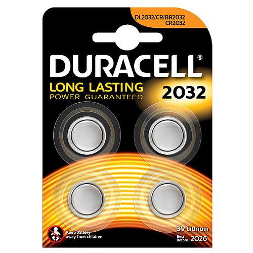 Duracell 2032 Lithium 3V (par 4) pas cher