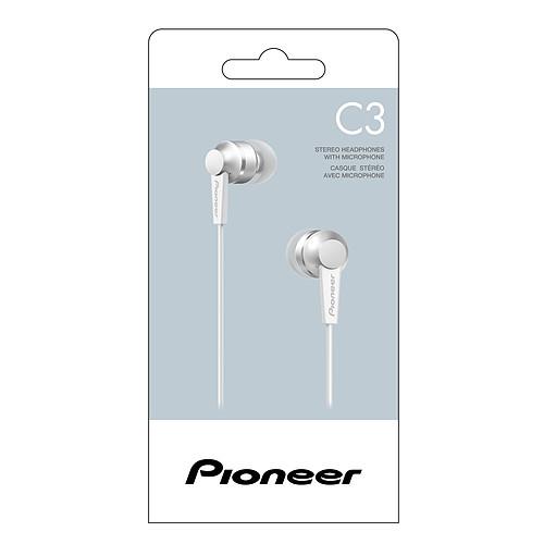 Pioneer SE-C3T Blanc pas cher