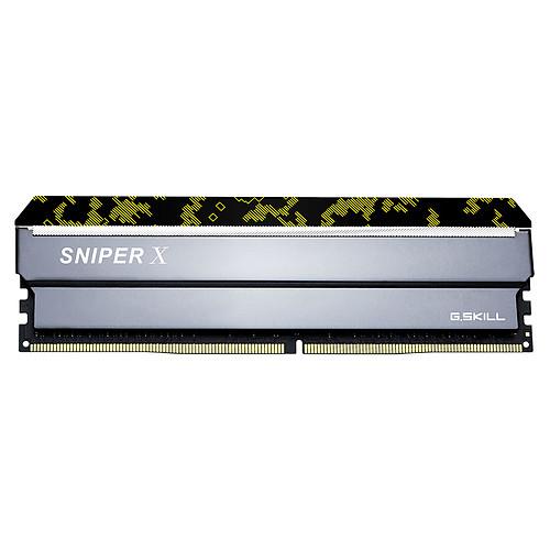 G.Skill Sniper X Series 16 Go (2x 8 Go) DDR4 2666 MHz CL19 pas cher