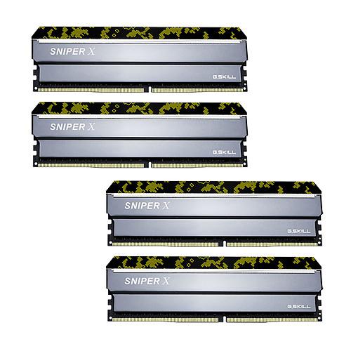 G.Skill Sniper X Series 32 Go (4x 8 Go) DDR4 2400 MHz CL17 pas cher