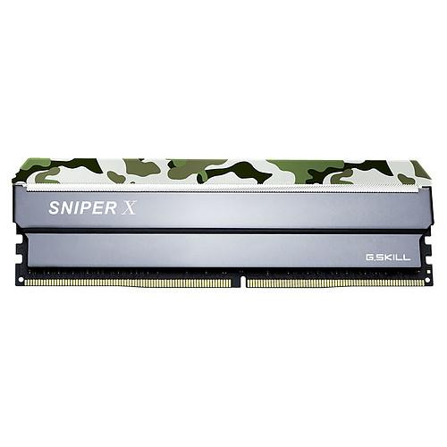 G.Skill Sniper X Series 64 Go (4x 16 Go) DDR4 3000 MHz CL16 pas cher