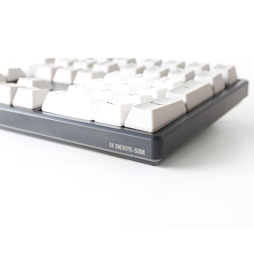 Ducky Channel One (coloris gris - Cherry MX Red) pas cher