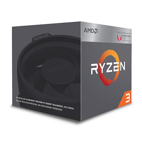 AMD Ryzen 3 2200G Wraith Stealth Edition (3.5 GHz) pas cher