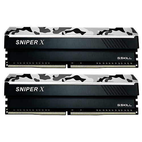 G.Skill Sniper X Series 16 Go (2x 8 Go) DDR4 3200 MHz CL16 pas cher