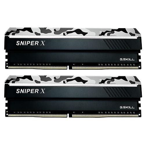 G.Skill Sniper X Series 16 Go (2x 8 Go) DDR4 3400 MHz CL16 pas cher