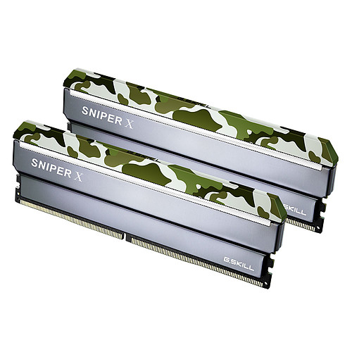 G.Skill Sniper X Series 16 Go (2x 8 Go) DDR4 2400 MHz CL17 pas cher