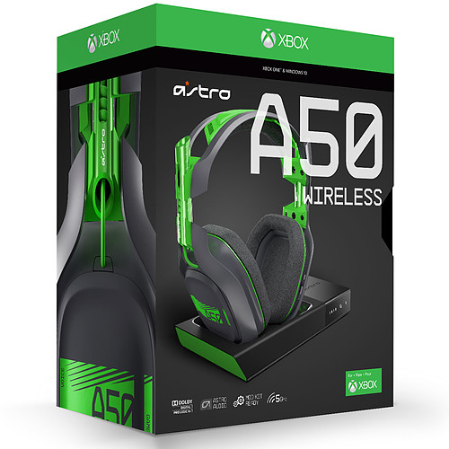 Astro A50 Wireless Noir + Base Station (PC/Mac/Xbox One) pas cher