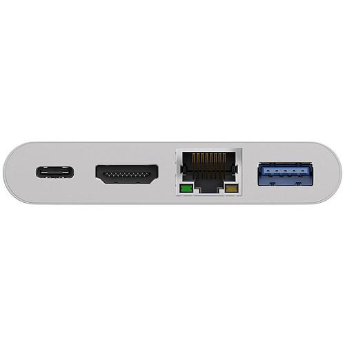 Goobay Adaptateur USB-C / HDMI - Ethernet (M/F) pas cher
