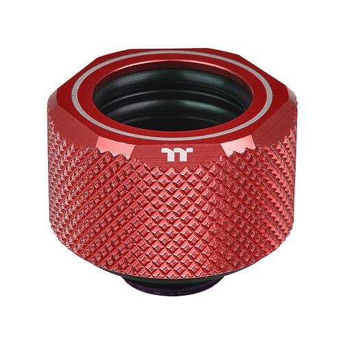 Thermaltake Pacific C-Pro G1/4 PETG 16 mm - Rouge pas cher