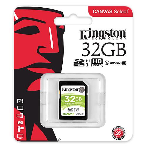 Kingston Canvas Select SDS/32GB pas cher
