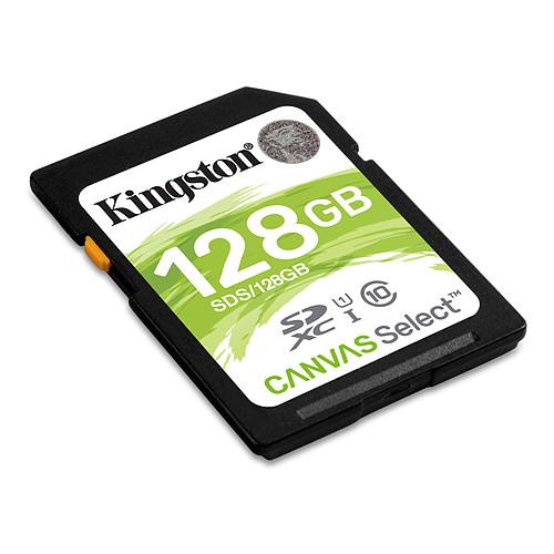 Kingston Canvas Select SDS/128GB pas cher