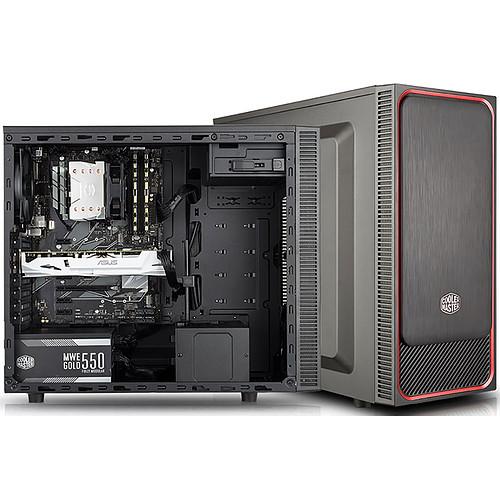 Cooler Master MasterBox E500L Rouge pas cher