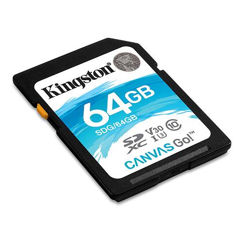 Kingston Canvas Go! SDG/64GB pas cher