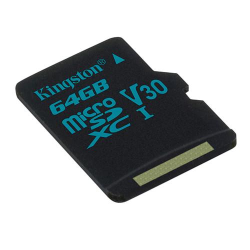 Kingston Canvas Go! SDCG2/64GBSP pas cher