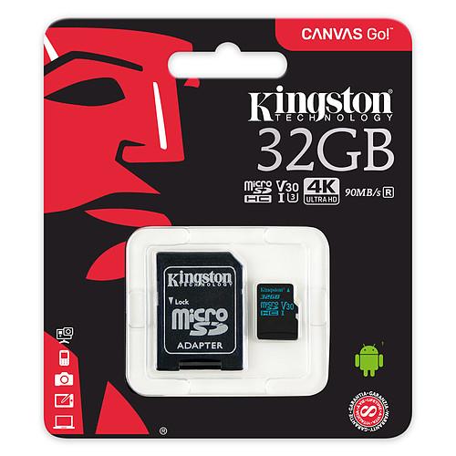 Kingston Canvas Go! SDCG2/32GB pas cher
