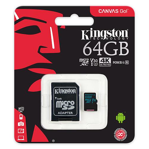Kingston Canvas Go! SDCG2/64GB pas cher