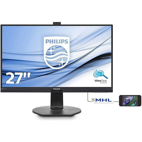 "Philips 27"" LED - 272P7VPTKEB pas cher"