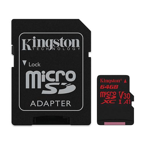 Kingston Canvas React SDCR/64GB pas cher